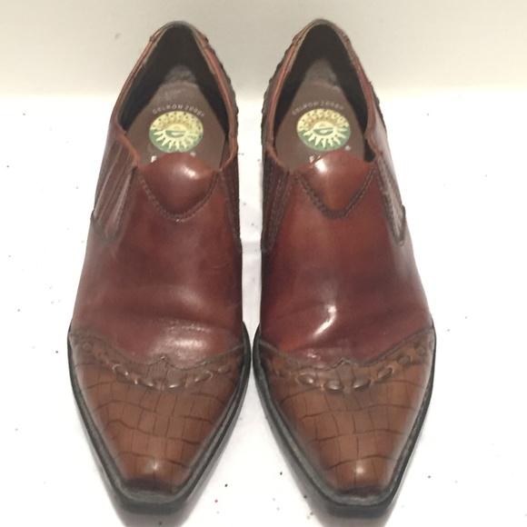 2e0fa19c Earth Spirit Shoes - Earth Spirit Cheyenne Western booties Leather